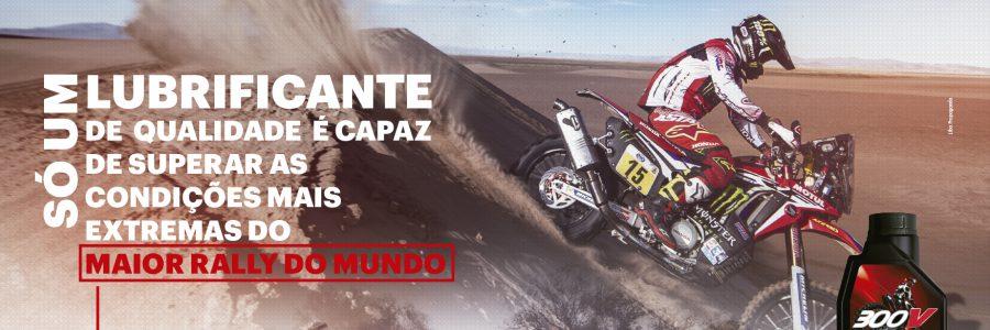 Anúncios Motul Rally-Dakar